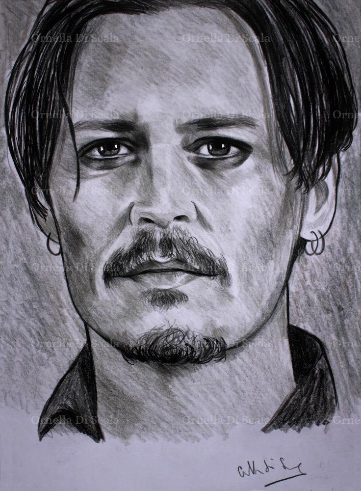 Johnny Depp by velvetdressx